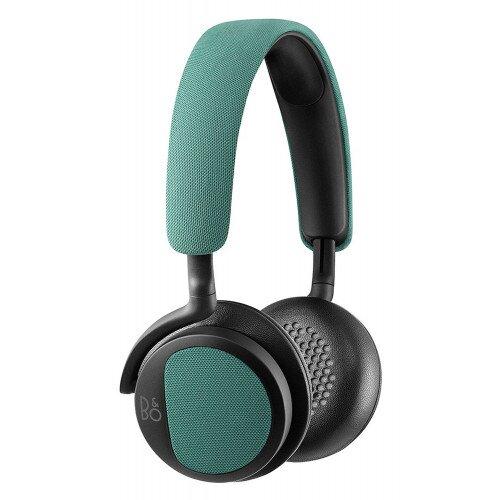 Bang & Olufsen BeoPlay H2 On-Ear Wired Headphones - Feldspar Green