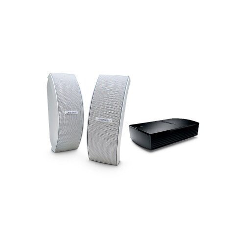 Bose SoundTouch Outdoor Wireless System with 151 SE Speakers - White