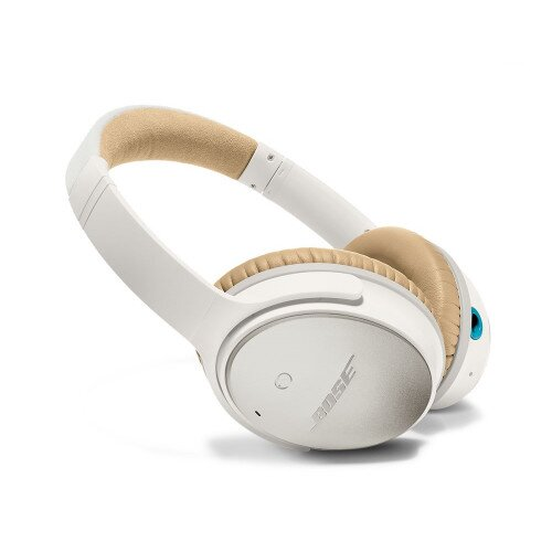 Bose QuietComfort 25 Acoustic Noise Cancelling Headphones - Apple Devices - White