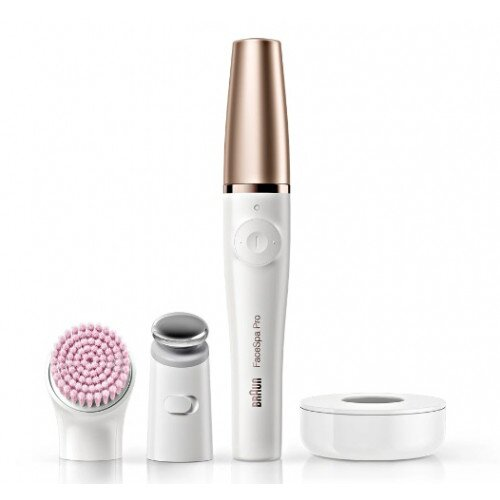 Braun FaceSpa Pro 912 3-in-1 Facial Epilating Cleansing & Skin Toning System