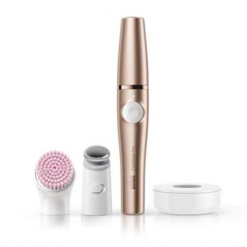 Braun FaceSpa Pro 921 3-in-1 Facial Epilating Cleansing & Skin Toning System