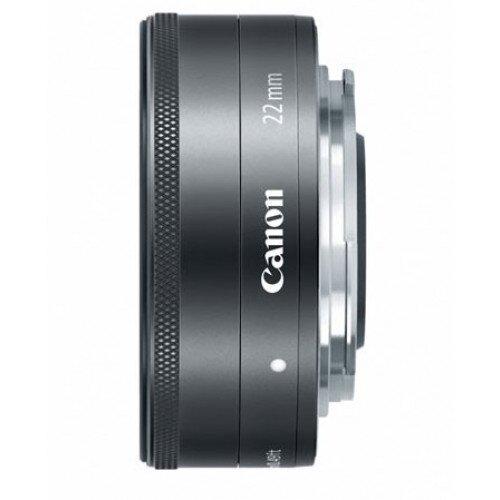 Canon EF-M 22mm f/2 STM Wide-Angle Lens Lens - Black