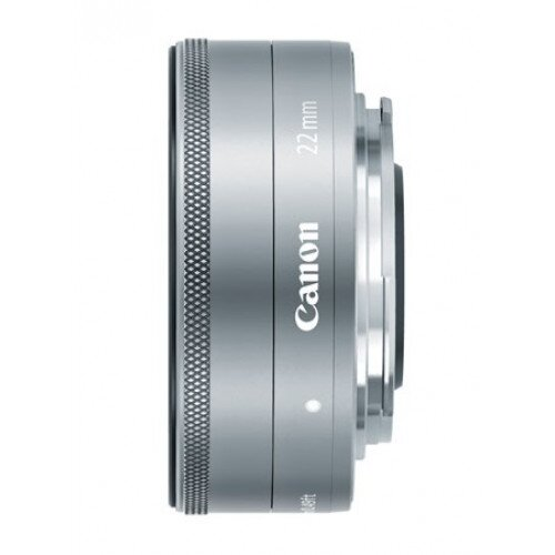 Canon EF-M 22mm f/2 STM Wide-Angle Lens Lens - Silver