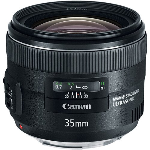 Canon EF 35mm Wide-Angle Lens - f/2 IS USM