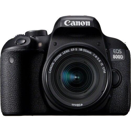 Canon EOS 800D + EF-S 18-55 IS STM Lens Digital SLR Camera