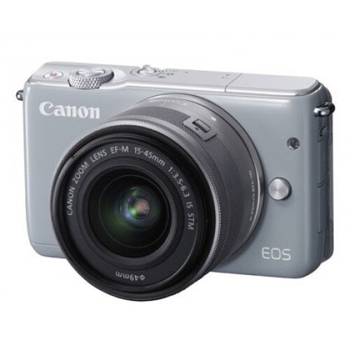 Canon EOS M10 EF-M 15-45mm f/3.5-6.3 IS STM Kit - Gray