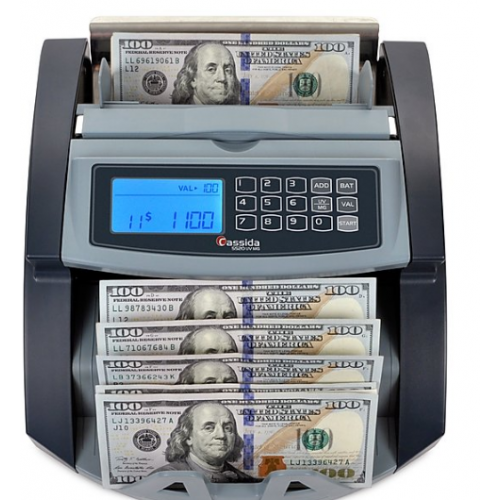 Cassida 5520 SERIES Bill Counter with ValuCount