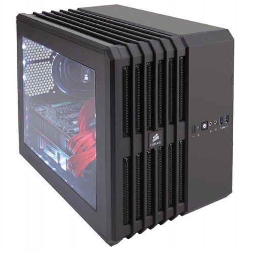 Corsair Carbide Series Air 240 High Airflow MicroATX and Mini-ITX PC Case - Black