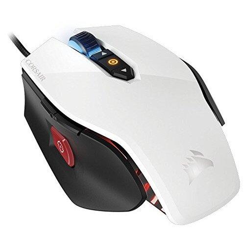 Corsair Gaming M65 RGB Laser Gaming Mouse - White