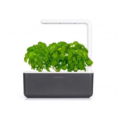Click & Grow Smart Garden 3 Indoor Herb Garden - Grey