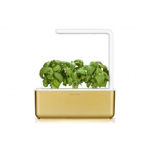 Click & Grow Smart Garden 3 Indoor Herb Garden - Gold