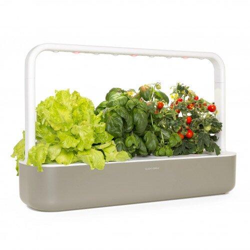 Click & Grow Smart Garden 9 Indoor Home Garden - Grey