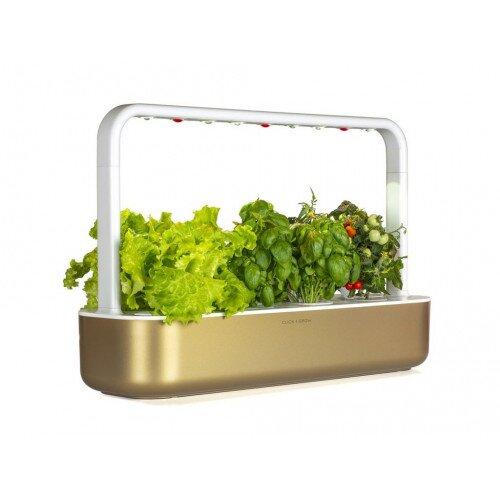 Click & Grow Smart Garden 9 Indoor Home Garden - Gold