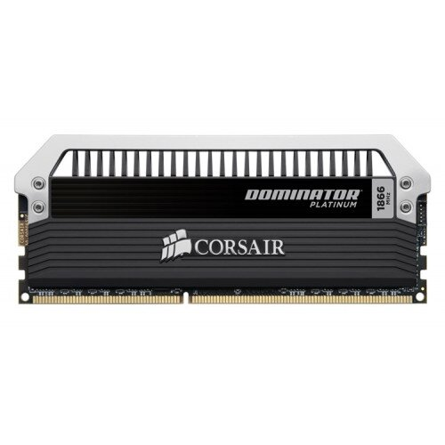 Corsair Dominator Platinum Series 16GB (2 x 8GB) DDR3 DRAM 1866MHz C10 Memory Kit