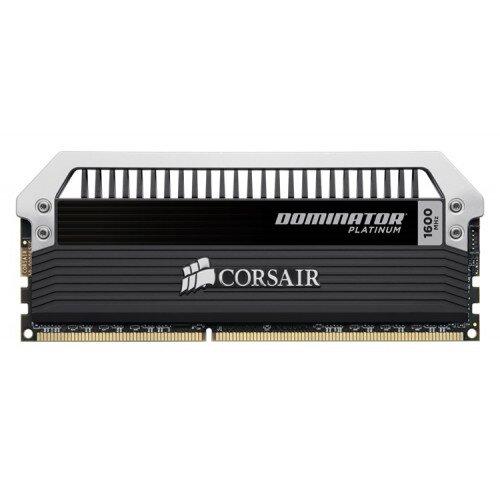 Corsair Dominator Platinum Series 16GB (4 x 4GB) DDR3 DRAM 1600MHz C7 Memory Kit