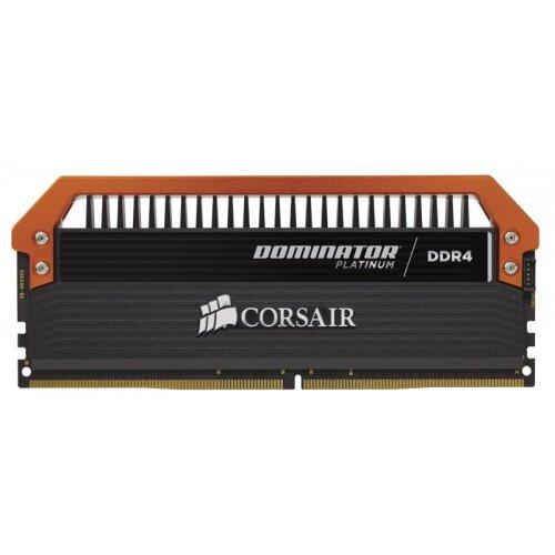 Corsair Dominator Platinum Series 16GB (4 x 4GB) DDR4 DRAM 3400MHz C16 Memory Kit - Limited Edition Orange