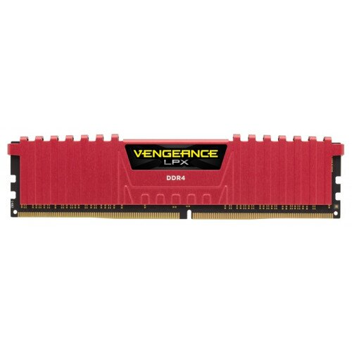 Corsair Vengeance LPX 32GB (4x8GB) DDR4 DRAM 2400MHz C16 Memory Kit - Red