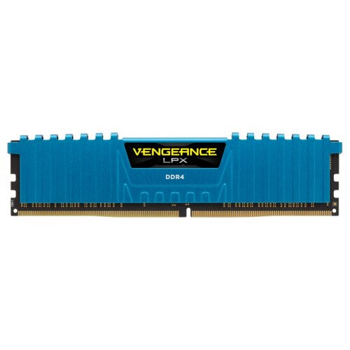 Corsair Vengeance LPX 16GB (4x4GB) DDR4 DRAM 2800MHz C16 Memory Kit - Blue