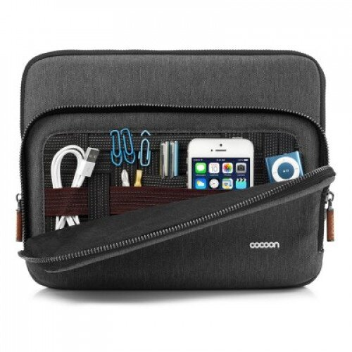 Cocoon Graphite iPad Sleeve Sized to fit up to the iPad 4 with Smart Case - 3