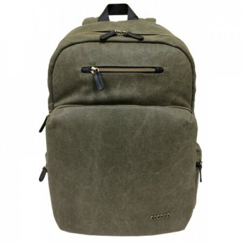 """Cocoon Urban Adventure Backpack Up To 16"""" Laptop - Army Green"""