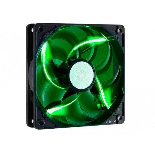 Cooler Master Green LED Silent Fan 120mm Case Fan