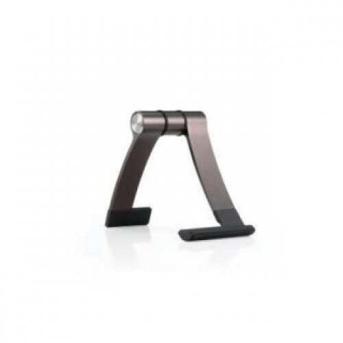 Cooler Master Jas Mini Travel Aluminum, Rubber Stand Tablet or Smartphone - Espresso Brown