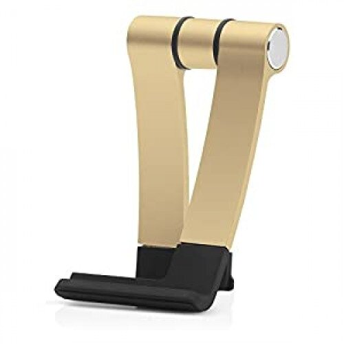 Cooler Master Jas Mini Travel Aluminum, Rubber Stand Tablet or Smartphone - Gold