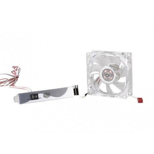 Cooler Master LED On/Off Fan 80mm with Control Panel Case Fan