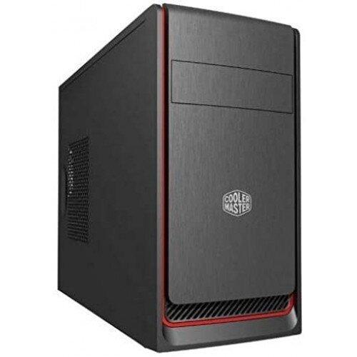 Cooler Master MasterBox E300L Computer Case - Red