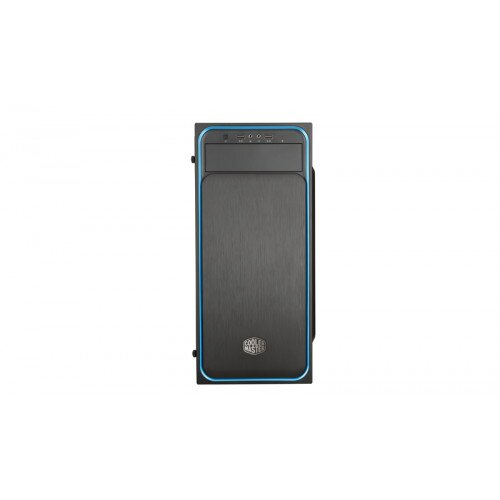 Cooler Master MasterBox E500L (Side Window Panel Version) Mid Tower Computer Case - Blue