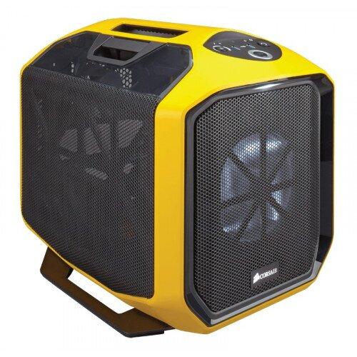 Corsair Graphite Series 380T Portable Mini ITX Case - Yellow