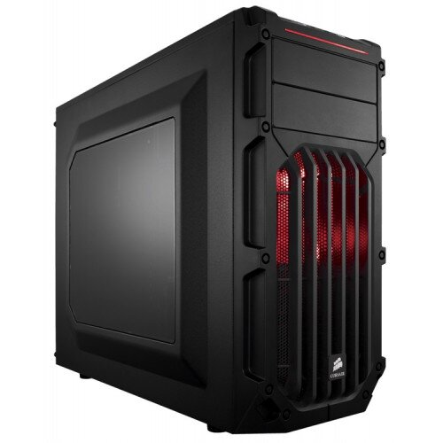 Corsair Carbide Series SPEC-03 LED Mid-Tower Gaming Case - Red