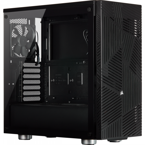 Corsair 275R Airflow Tempered Glass Mid-Tower Gaming Computer Case - Black