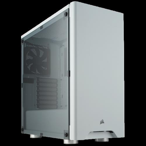 Corsair Carbide Series 275R Mid-Tower Gaming Computer Case - White