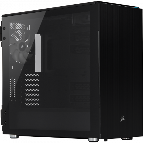 Corsair Carbide Series 678C Low Noise Tempered Glass ATX Mid Tower Computer Case - Black