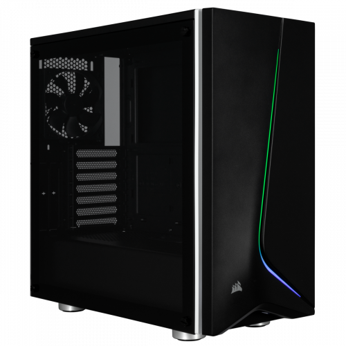 Corsair Carbide Spec-06 RGB Tempered Glass Mid Tower Computer Case