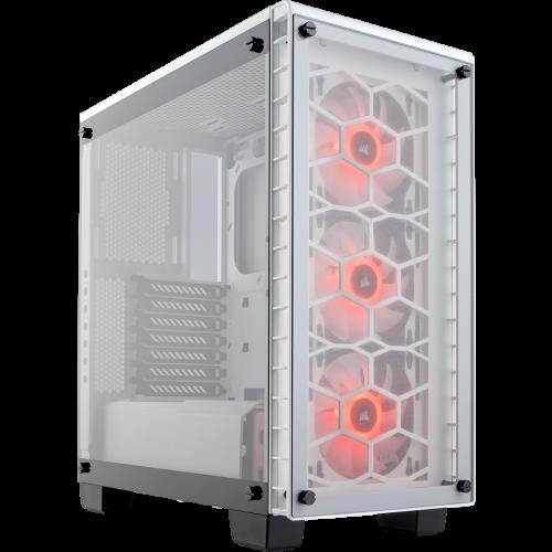 Corsair Crystal Series 460X RGB Compact ATX Mid-Tower Computer Case