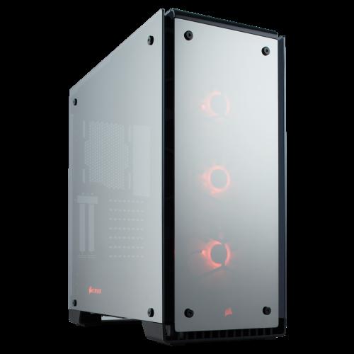 Corsair Crystal Series 570X RGB ATX Mid-Tower Case - Mirror Black