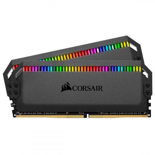 Corsair Dominator Platinum RGB DDR4 Memory - 16GB Kit (2 x 8GB) - 4600MHz CL19