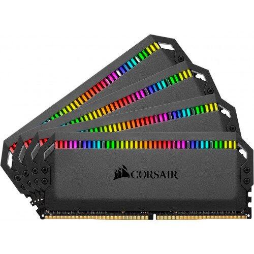 Corsair Dominator Platinum RGB DDR4 Memory - 64GB Kit (4 x 16GB) - 3466MHz C16