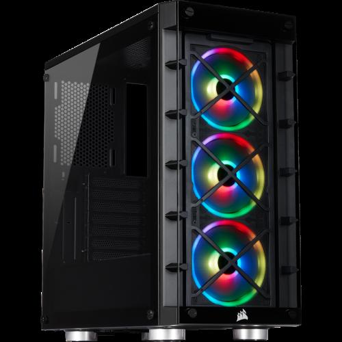 Corsair iCUE 465X RGB Mid-Tower ATX Smart Computer Case