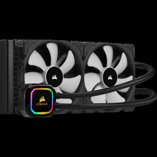 Corsair iCUE H115i RGB Pro XT Liquid CPU Cooler - 240mm