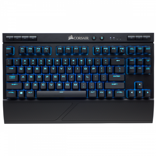 Corsair K63 Wireless Special Edition Mechanical Gaming Keyboard - Ice Blue LED - Cherry MX Red