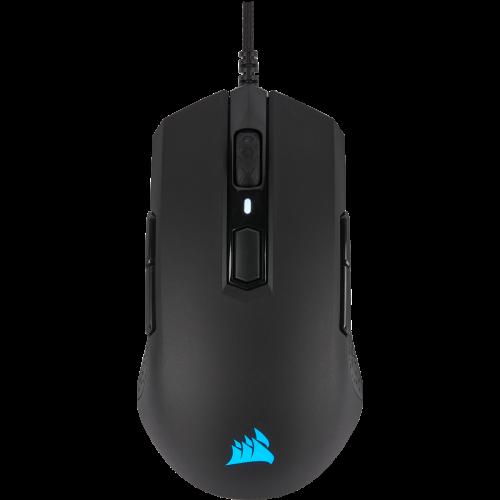 Corsair M55 RGB Pro Ambidextrous Multi-Grip Gaming Mouse - Black