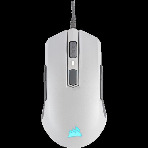 Corsair M55 RGB Pro Ambidextrous Multi-Grip Gaming Mouse - White