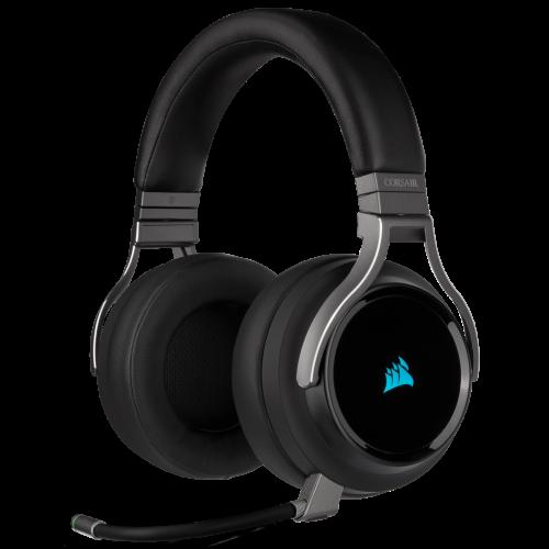 Corsair Virtuoso RGB Wireless High-Fidelity Gaming Headset - Carbon