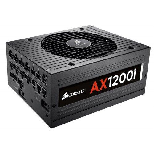Corsair AX1200i Digital ATX Power Supply - 1200 Watt 80 PLUS Platinum Certified Fully-Modular PSU