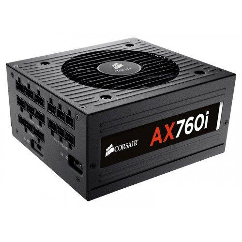Corsair AX760i Digital ATX Power Supply - 760 Watt 80 PLUS Platinum Certified Fully-Modular PSU