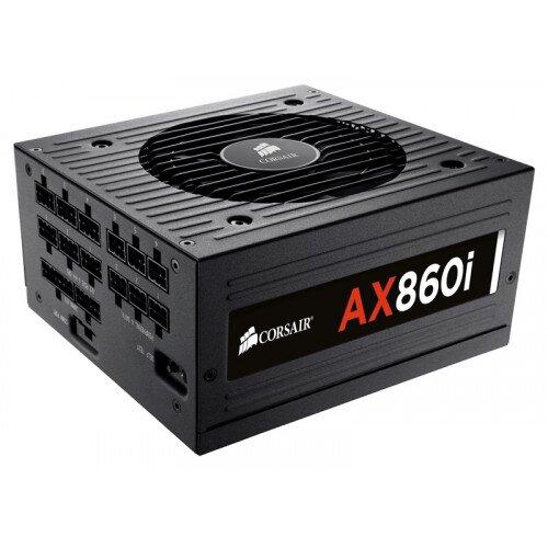 Corsair AX860i Digital ATX Power Supply - 860 Watt 80 PLUS Platinum Certified Fully-Modular PSU