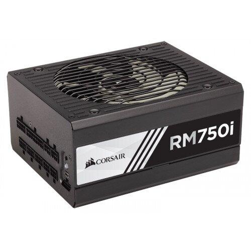 Corsair RMi Series RM750i Power Supply - 750 Watt 80 PLUS Gold Certified Fully Modular PSU